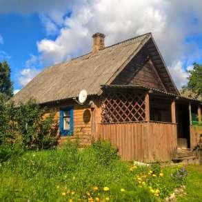Добротный дом с баней и хоз-вом на хуторе под Печорами, в Пскове