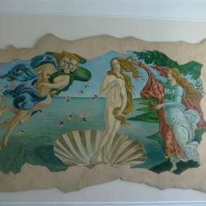 Декор. штукатурка, картины, роспись стен, барельефы, в Кемерове