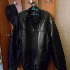 Кожаная куртка SONG DI, в Сургуте