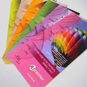 Срочная печать визиток, листовок, флаеров, в Москве