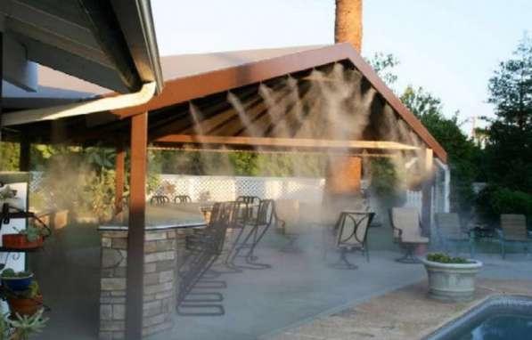 Системы туманообразования, туманное охлаждения, Микроклимат в фото 3