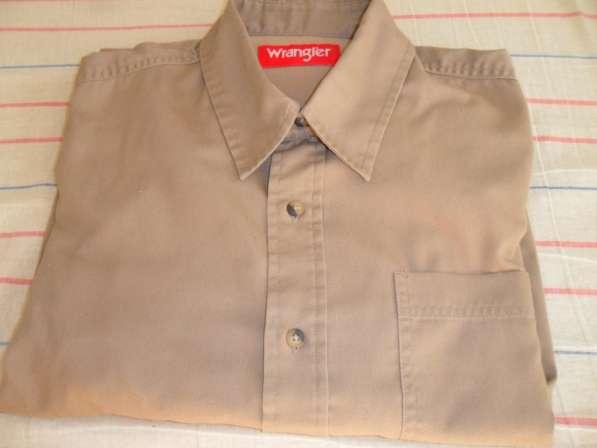 Продаю новую мужскую рубашку известной америк фирмы WRANGLER