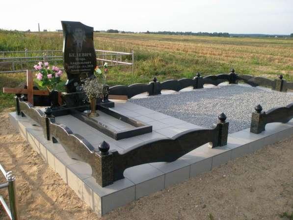Благоустройство могил, захоронений в фото 4