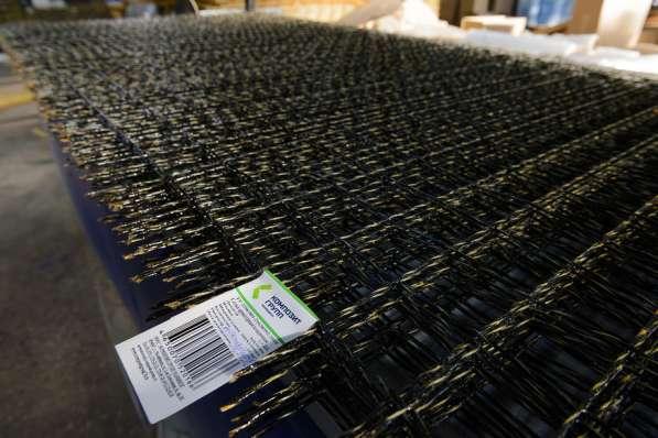 Базальтопластиковая кладочная сетка 50*50, карта 1500*380мм