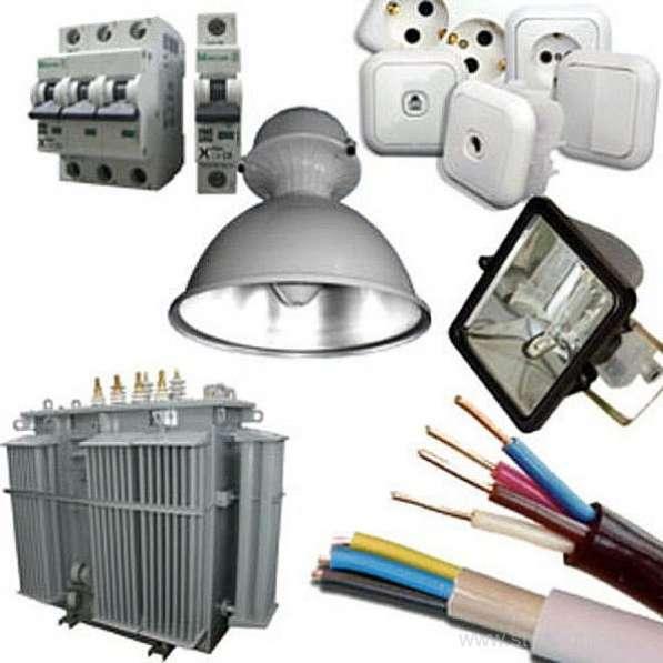 Кабеля и электротовары для организаций