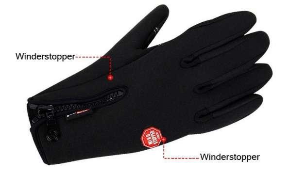"""Перчатки на все случаи жизни """"wind stopper"""""""