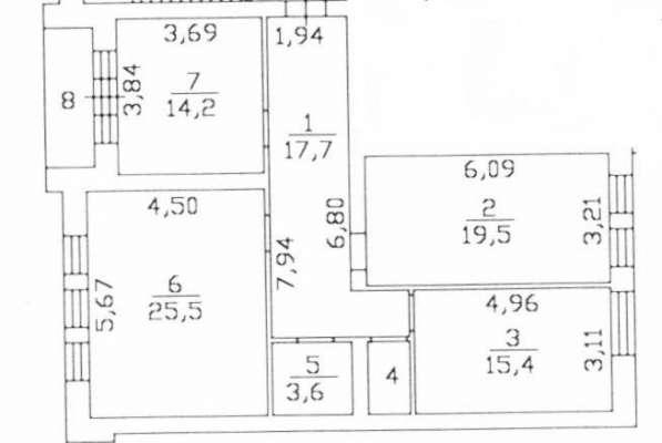 Продаю 3х комнатную кв-ру на ул. Ильича, 14 сдан