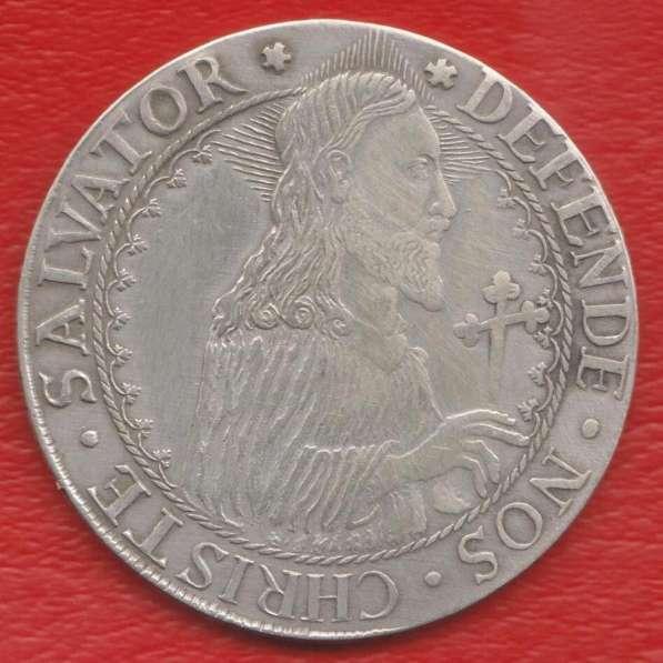 Польша Данциг Осадный талер 1577 г. №1