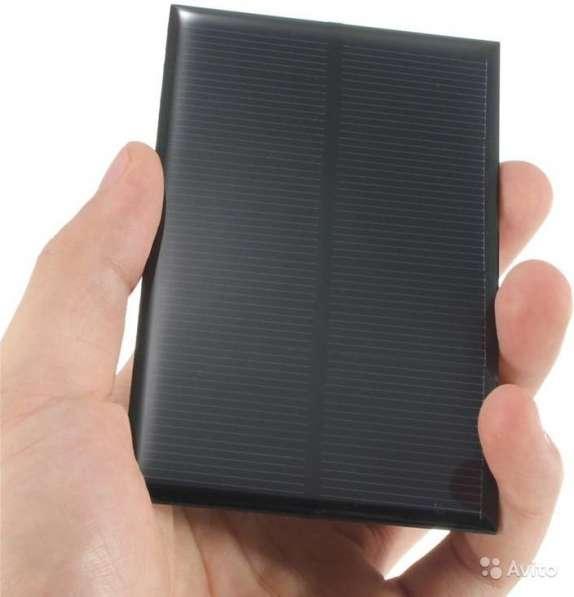 Солнечная батарея 110х70 мм - 5в 250 мА