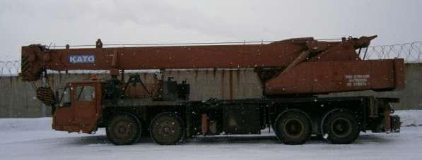 Автокран гидравлический КАТО NK-450S; гр/п 40 тн