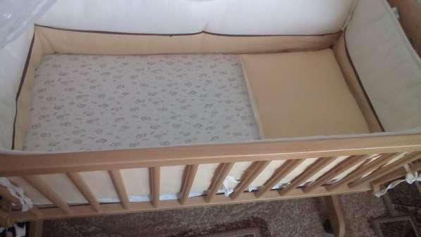 Продается детская кроватка-люлька в Калининграде фото 4