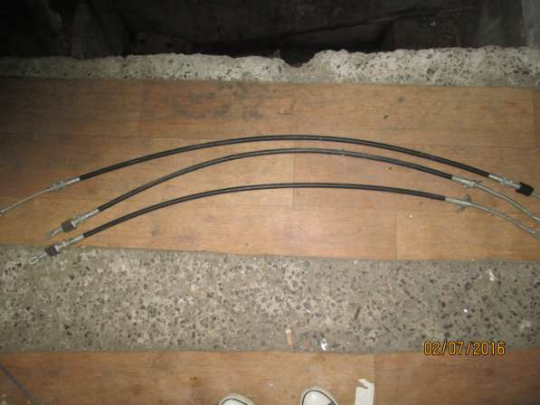 Тросики ручника для газ 3302