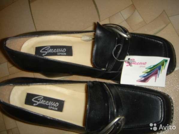 Туфли новые размер 38 натуральная кожа