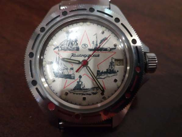 Командирские, механические часы в Дмитрове фото 3
