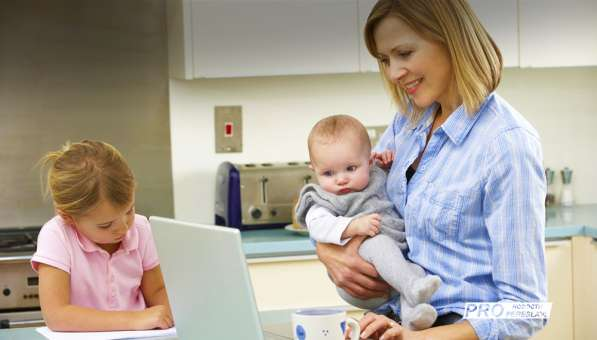 Работа на дому в декрете, в интернете, с обучением