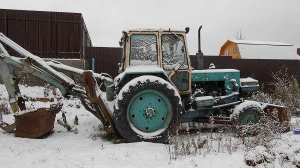 Продам трактор-экскаватор в рабочем состоянии