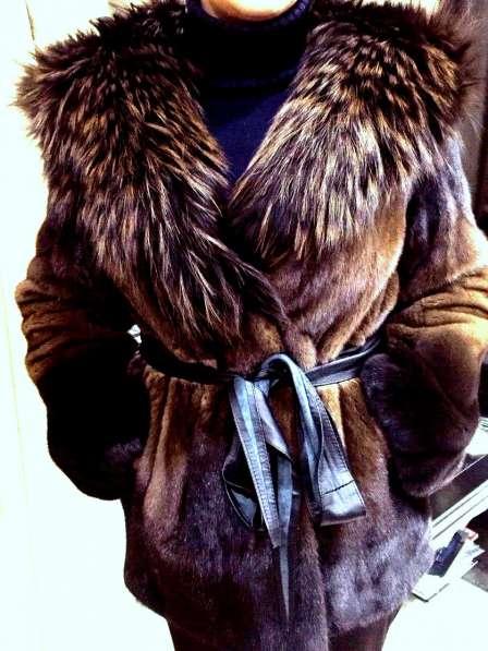 Продажа шикарной норковой шубы 46-48 р-р (Греция)