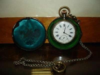 Старин.карманные часы,серебро 84
