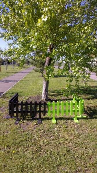 Забор декоративный, пластиковый, секция 103*40 мм