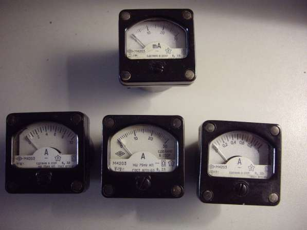 Измерительные головки для радиолюбителей М4203 в Челябинске фото 11