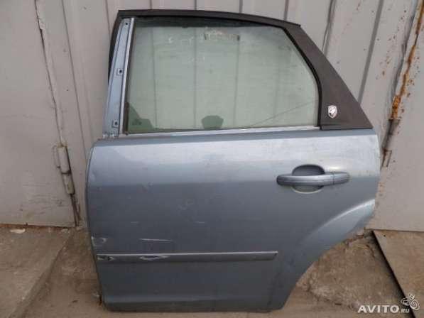 Дверь задняя левая бу для Форд Фокус 2 дорест