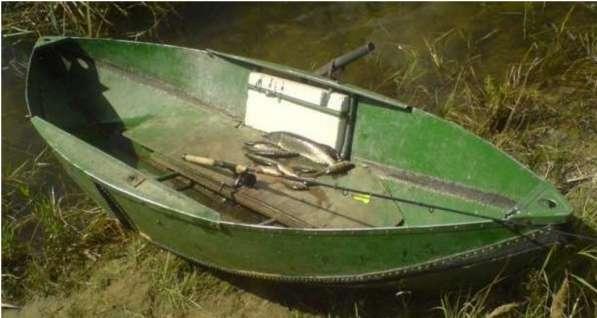 Лодка складная килевая, для охоты и рыбалки