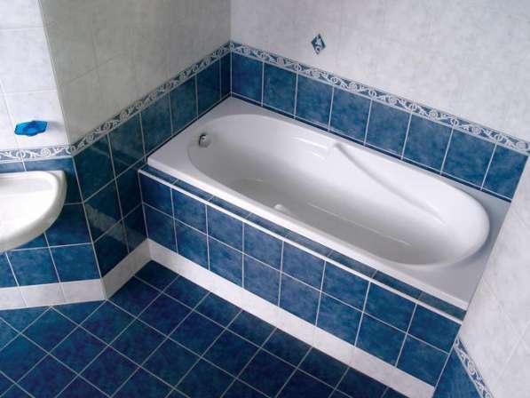 Ванна ремонт реставрация замена акрил или вкладыш