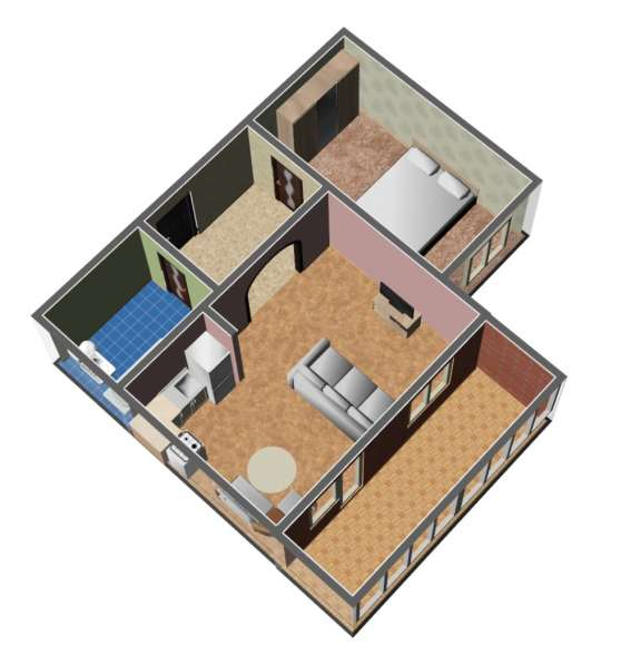 1 комнатная на Комсомольском
