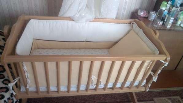 Продается детская кроватка-люлька в Калининграде фото 3