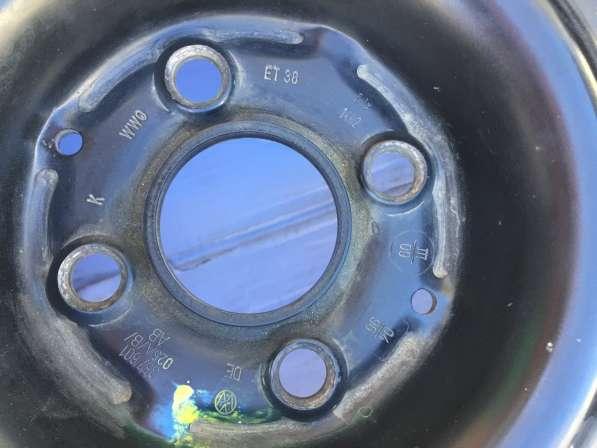 Запасное колесо с диском Фольксваген пассат б/у в Саратове фото 3