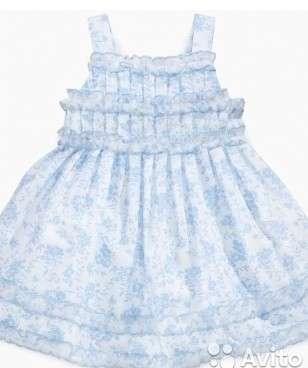 Летнее платье на девочку (новое)