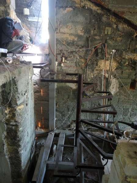 Лестницы сварные под заказ