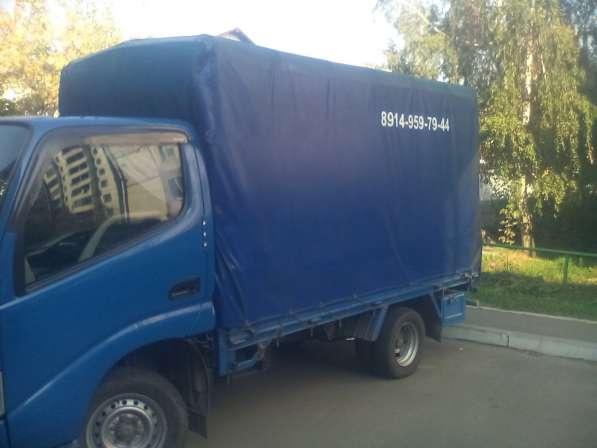 Грузоперевозки в Иркутске услуги грузовика, грузчиков переез