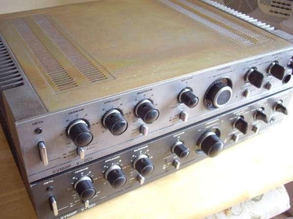 Стереофонический полный усилитель Кумир У-001-стерео в Челябинске фото 3