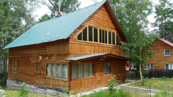 Благоустроенный дом в двухстах метрах от Байкала