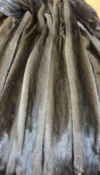 Шкурки норки браун (skanbrown) коричневой