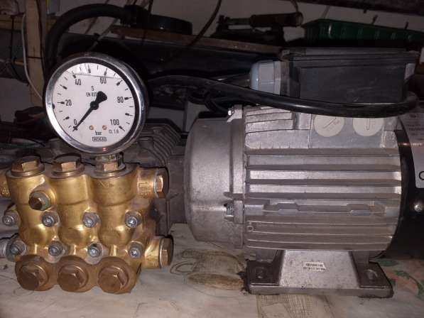 Продам насос водяной высокого давления новый. пр-во (италия)