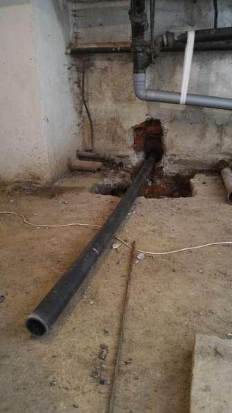 Бестраншейная замена канализации и водостоков, выпусков в Москве фото 13