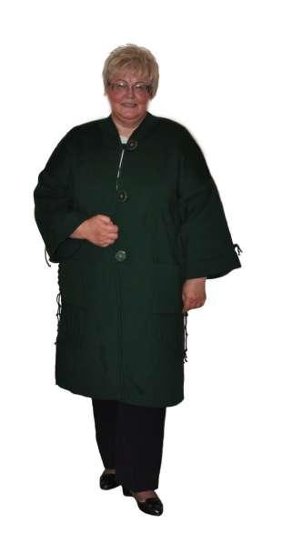 Вязаные женские пальто больших размеров