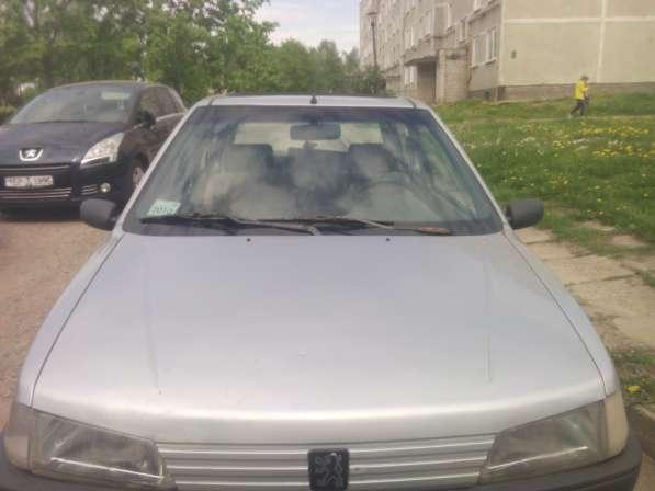 Автомобиль пежо-106