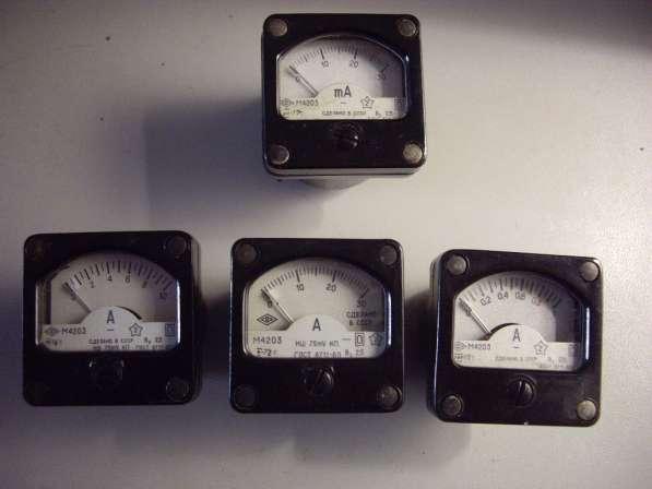 Измерительные головки для радиолюбителей М4203 в Челябинске фото 10