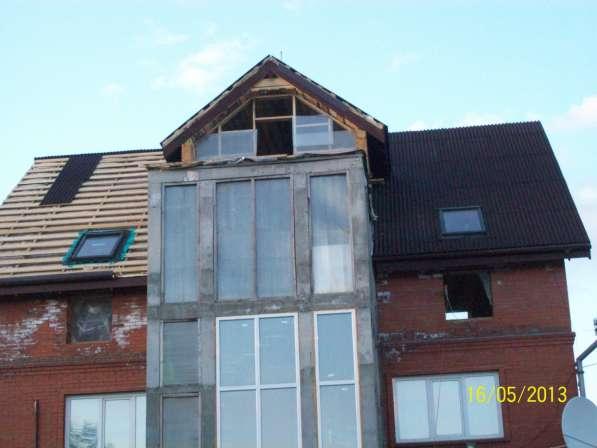 Монтаж и ремонт кровель, фасадов, мансардных окон
