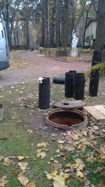 Бестраншейная замена канализации и водостоков, выпусков в Москве фото 8