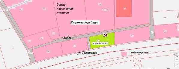 Участок первая линия ул. Трактовая