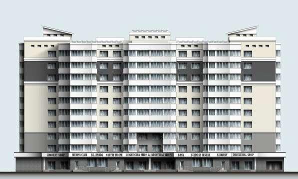 Участок для строительства первого в городе дома с лифтами в Липецке