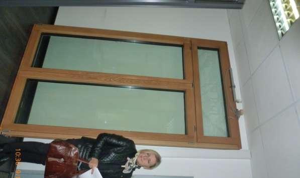 Французское окно из дуба 1520 х 2610 мм