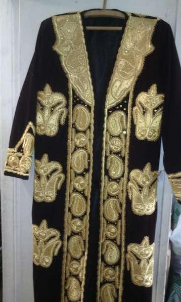 Узбекский чапан - золотое шитье