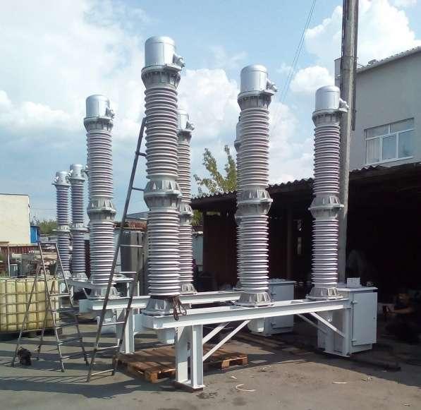 Высоковольтное оборудование 6-220кВ в Екатеринбурге фото 7