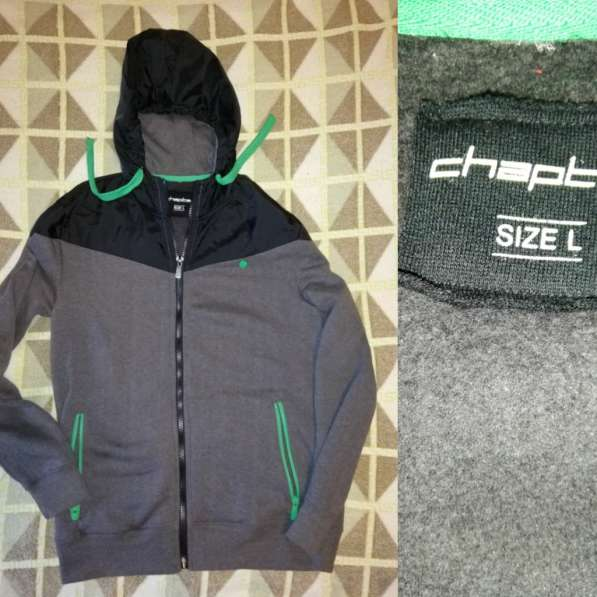 Спортивные куртки - ветровки - толстовки р. 48 обе на флисе в Москве фото 5