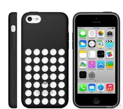 Чехол iPhone 5c силиконовый + защитная п